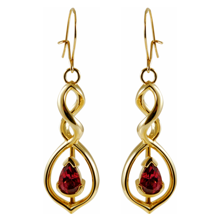 Latin Dance Earrings: PEARDROP SALSA EARRINGS
